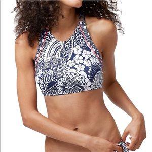 TOMMY BAHAMA Paisley Paradise Bikini Top Size S